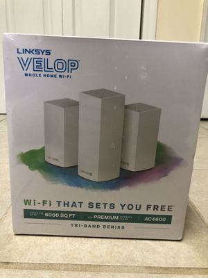 LINKSYS Velop Premium Wifi Router for Sale in Lilburn, GA