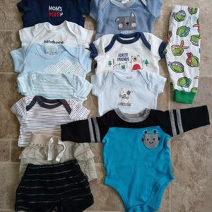 Baby Boy Clothes 0-3months for Sale in Pasadena, TX