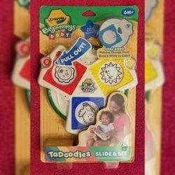 Crayola Beginnings Baby Tadoodles Slide & See 2009 for Sale in Sedro-Woolley,  WA