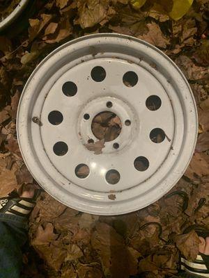 5x4.5 15x6 trailer wheels for Sale in Clackamas, OR