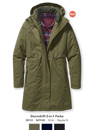 Black Patagonia 3 in 1 parka for Sale in Chicago, IL
