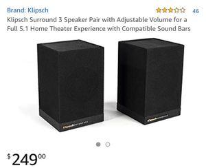 Klipsch surround 3 for Sale in Los Angeles, CA