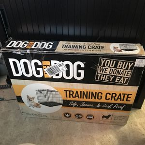 Training Crate and Indoor Pee Pad for Sale in San Francisco, CA