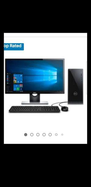 Like new dell inspiron desktop computer & printer combo for Sale in Warren, MI