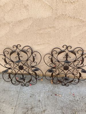 Metal Decorations Home Interior Spanish Style Hanging for Sale in Lake View Terrace, CA