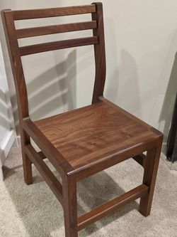 Stunning Walnut Dining Chairs - US Made for Sale in Seattle,  WA