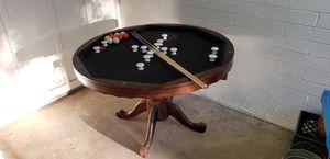 Bumper pool poker dining table for Sale in Phoenix, AZ