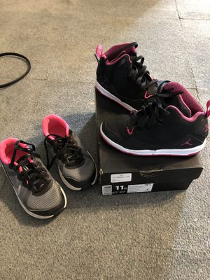 Nike's and Jordan's size 11 for Sale in Pittsburgh, PA