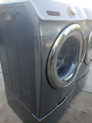 Washer and dryer excellent condition,no issues for Sale in Oklahoma City, OK