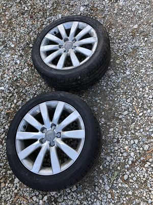 Audi rims and tires for Sale in Charlotte, NC
