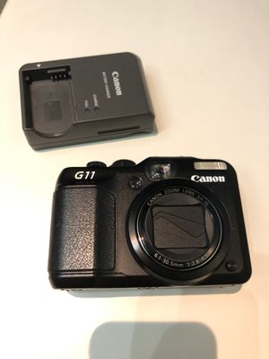 Cannon G11 digital camera power shot 10.0MP charger for Sale in Seattle, WA