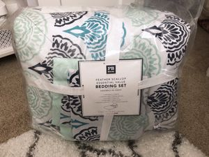 NEW! Pottery Barn Teen comforter set for Sale in Plymouth, MI