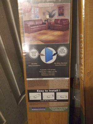 Laminated Flooring plank for Sale in Carterville, MO