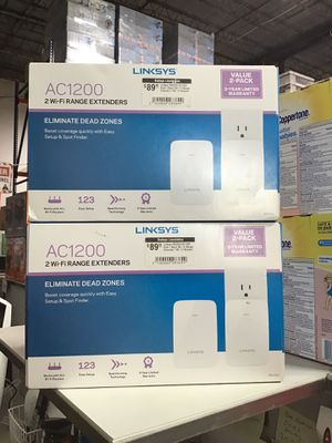 Linksys RE6350 AC1200 Dual Band WiFi Range Extender / WiFi Booster for Sale in Houston, TX