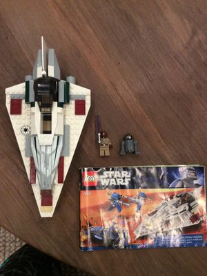 LEGO Star Wars Mace Windus Jedi Star Fighter(Ship, minifigs, and manual) for Sale in Tustin, CA