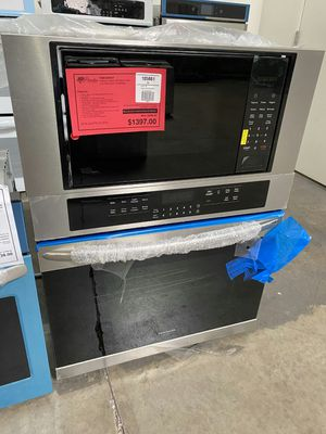 New Discounted Electric Wall Oven/ Microwave Combination 1yr Warranty for Sale in Gilbert, AZ