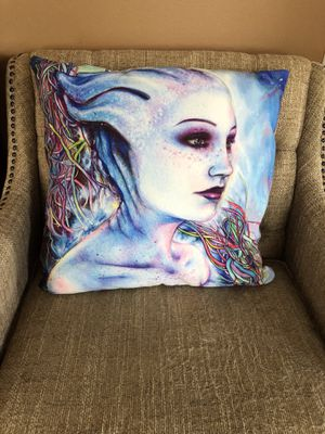 Mass Effect Character Throw Pillows for Sale in Kirkville, NY