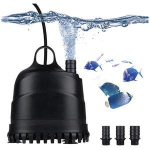 LERWAY Aquarium Water Pump, 660GPH/475GPH Adjustable Water Flow Rate Low Water Pump for Pond, Pool, Fish Tank, Fountain, Hydroponics for Sale in Brea, CA