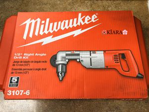 """Milwaukee 1/2"""" Right Angle Drill Kit for Sale in Anaheim, CA"""