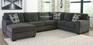 BALLI LARGE SECTIONAL INCLUDING 3 PILLOWS. IN STOCK. PICK UP TODAY.DELIVERY . for Sale in Midway City, CA