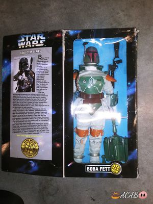 1990'S COLLECTIBLE Star Wars (Boba Fett) LARGE Action Figure for Sale in Seattle, WA