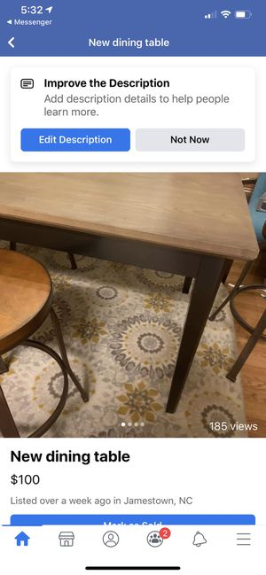 New table for Sale in Jamestown, NC
