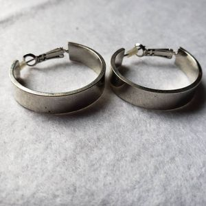 Silver hoop earrings for Sale in Riverbank, CA