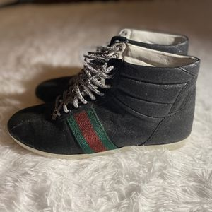 Men's High Top Gucci Sneakers, Size 9 1/2 for Sale in Durham, NC