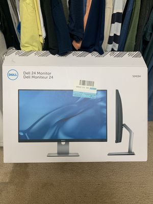 "24"" Dell Monitor brand new for Sale in Desert Hot Springs, CA"