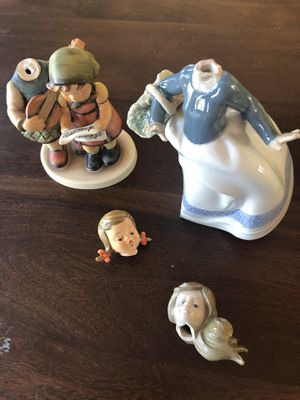 Free damaged figurines for Sale in Andover, MA