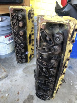 350 Chevy heads good set for rebuilding. for Sale in Pleasant Hill, CA