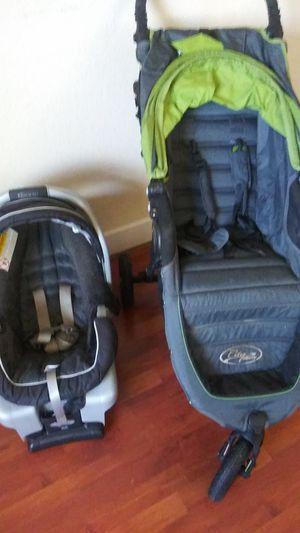 Citi mini baby jogger & Graco car seat for Sale in Dallas, TX