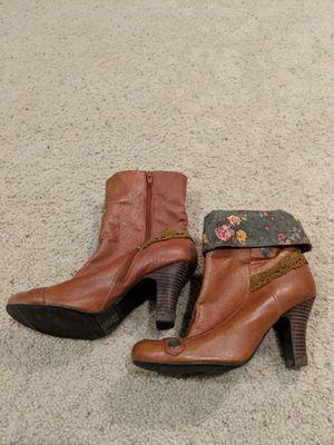 Vintage high heel boots for Sale in Augusta, KS