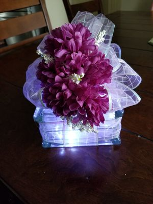 Lighted Decorated Glass Blocks for Sale in Angier, NC