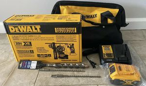 Dewalt Rotary Hammer Kit with battery, charger, bag & bits for Sale in Suffield, CT
