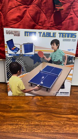 Mini Table Tennis Game for Kids for Sale in Diamond Bar, CA