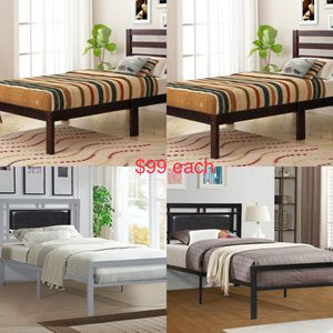 New twin bed for $99 for Sale in Fort Worth, TX