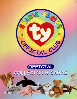 Beanie Babies Collector's Cards in folder and sleeves for Sale in Chandler, AZ