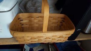 "Longaberger Basket. 15 "" long. 5 deep for Sale in Beaver Falls, PA"