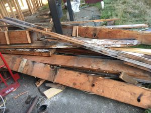 Free lumber wood building materials. for Sale in Tacoma, WA