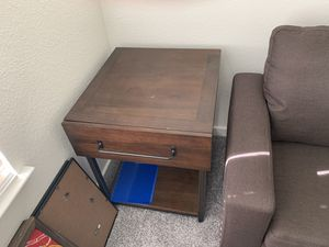 End table, Console & Couch for Sale in Fresno, CA