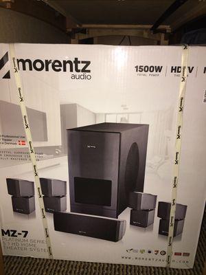 Morentz Home Audio Speaker Set for Sale in San Francisco, CA