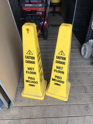 Wet floor signs for Sale in Anchorage, AK