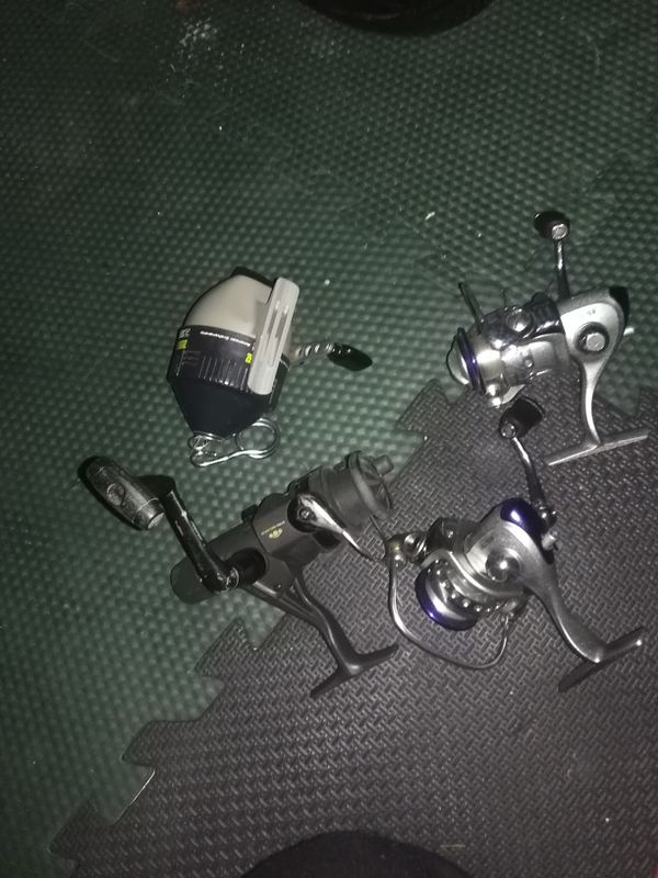 Pro fishing reels