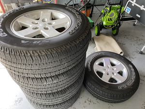 (5) Jeep Wrangler Wheels for Sale in Lutz, FL