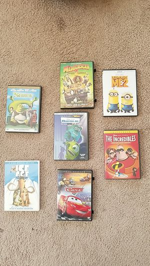 Disney movies DVDs 7 for Sale in Tracy, CA