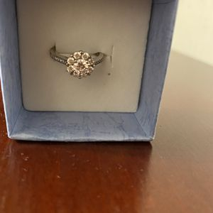 Sterling White Sapphire Ring for Sale in Rustburg, VA