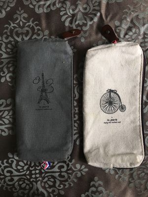 Pack of two French pencil cases for Sale in Seattle, WA