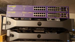 Extreme summit x450e-24port PoE switch for Sale in Bellingham, MA