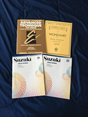 Violin Music Books Lot for Sale in Chesapeake, VA